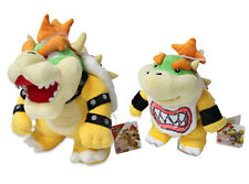 NEW Bowser Jr & Bowser Plush (set of 2) Super Mario All Star Collection by Sanei