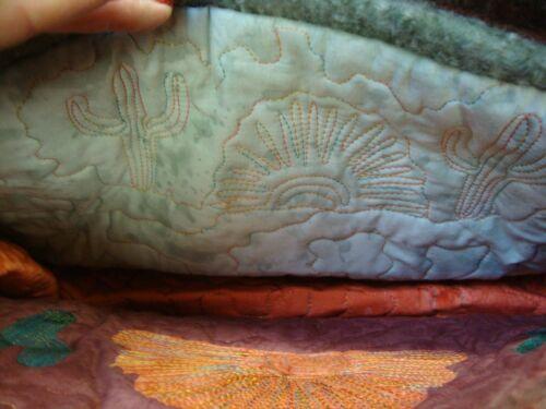 o lana Inside escena Diseñador monedero Sw Arizona acolchado de awesome completamente fieltro de ppTY4xn