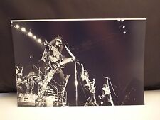Kiss 1977 LA Forum Live On Stage Band 8x12 Photo #30 From Original Negative
