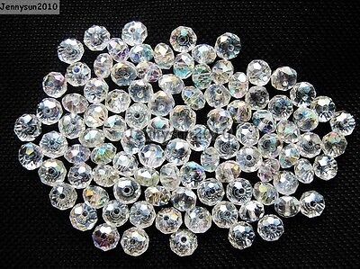 Freeshipping 100Pcs Top Quality Czech Crystal Faceted Rondelle Beads 3x 4mm Pick