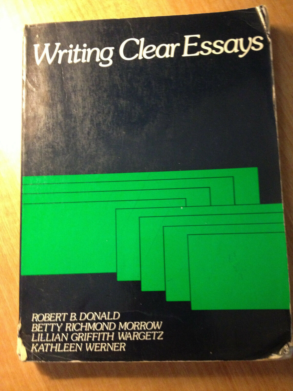 writing clear essays robert donald Writing clear paragraphs by robert b donald starting at $099 writing clear paragraphs has 6 available editions to buy at alibris.