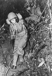 WW2-WWII-Photo-US-Army-Nurse-Training-in-Jungle-CBI-Theatre-World-War-Two-8077