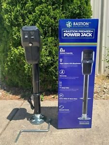 One New Premier Electric Tongue Jack | LED | 3500LB Cap. A-Frame | RVs/Campers