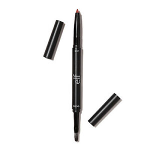 e-l-f-Lip-Liner-amp-Blending-Brush-Colour-Red-New-Boxed