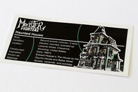 Lego Creator UCS / MOC Sticker for Haunted House 10228