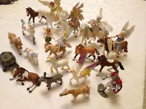 Schleich Bayala Feen Elfen Reiterinnen Pferde Pegaso Einhorn Sammlung Konvolut