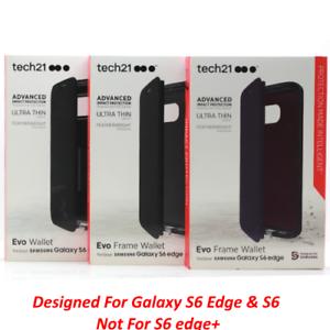 reputable site 3f3f2 ff3e4 Tech21 Evo Frame Wallet Case w/Credit Card Slot For Samsung Galaxy ...