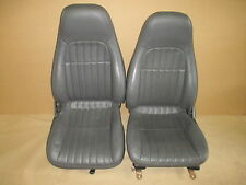 97 Camaro 30th Anniversary RS SS Z28 Med Gray Leather Seat Seats Set 0826-14