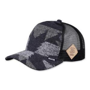 Djinns-HFT-Cap-Wool-Aztek-Black-Trucker-Mesh-Kappe-High-Fitted-Aztec-Basecap-NEU