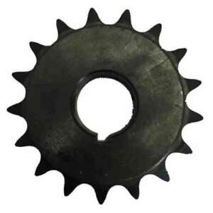 "1//2/"" Pitch, H4010X58 10-Tooth 40 Standard Roller Chain Finished Bore Sprocket"