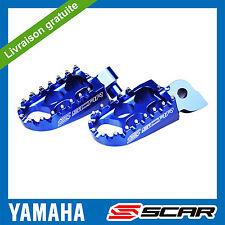 REPOSE CALE PIED STD YAMAHA YZ 85 125 YZF 250 400 450 WRF YZ250F YZ-F BLEU SCAR
