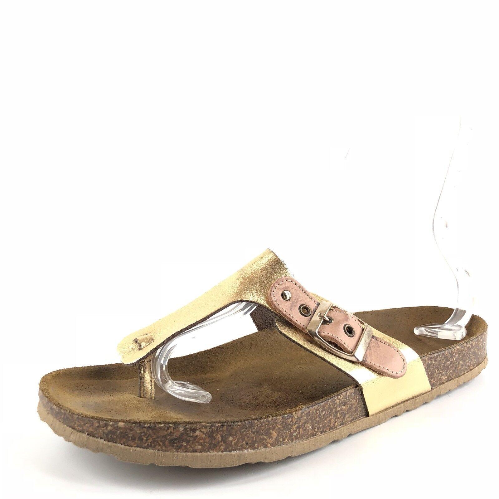 Seychelles calmar calmar calmar oro Cuero Sandalias para mujer Talla 11 M  punto de venta