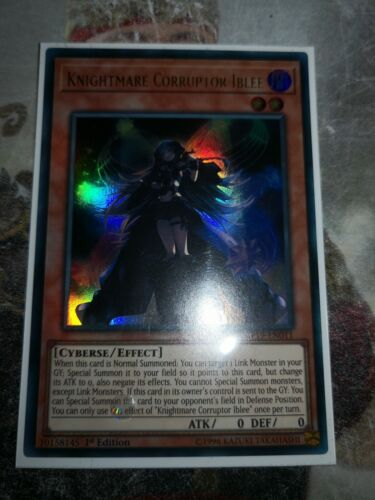 Yugioh MP19-EN011 Knightmare Corruptor Iblee Ultra Rare 1st Edition