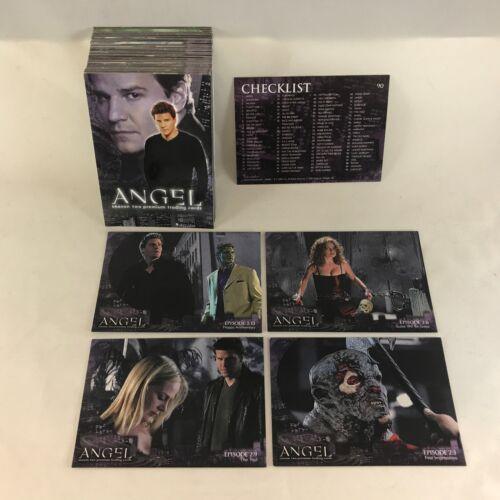 ANGEL SEASON 2 (Inkworks/2001) Complete Trading Card Set HARD TO FIND COMPLETE!
