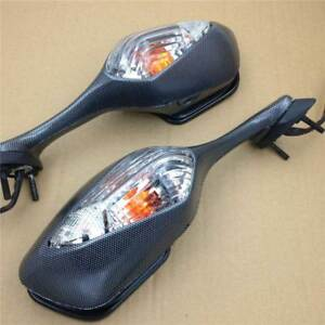 Carbon-LED-Turn-Signal-Light-Rearview-Mirror-For-2010-2012-Honda-VFR1200-2011