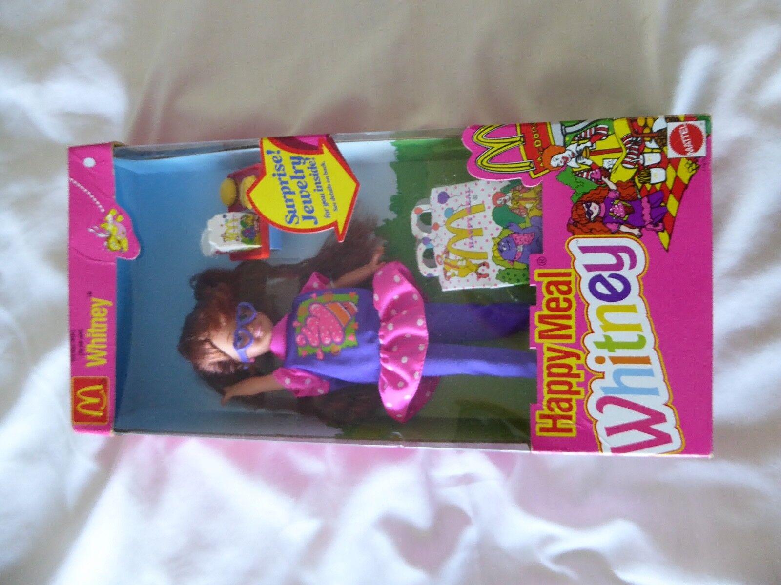 VINTAGE HAPPY MEAL WHITNEY 1993 BARBIE LITTLE SISTER  MATTEL 11476 - NEW