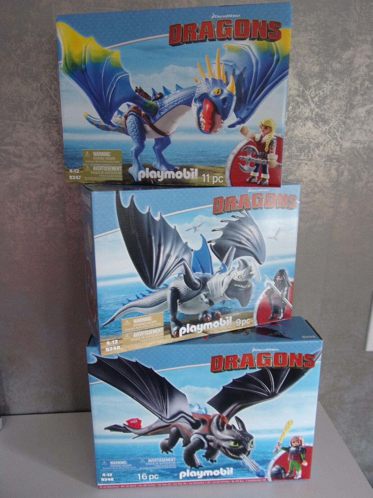 Playmobil Dragons (Divers Set's ) à Choisir - Neuf et Emballage D'Origine