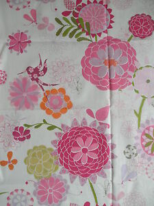 250cm HARLEQUIN Tropical Heaven pink floral cotton curtain fabric - <span itemprop='availableAtOrFrom'>Carnforth, United Kingdom</span> - 100% satisfaction guaranteed - if for any reason you wish to return the item, please advise me within 7 days of reciept. I will refund the full cost of the item, less any postage costs  - Carnforth, United Kingdom