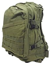 Extreme Outdoor Quality BlackHawk style Molle 3-Day Assault Back Pack Green