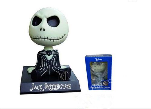 The Nightmare Before Christmas Jack Skellington Shaking Head Figure Model Toys