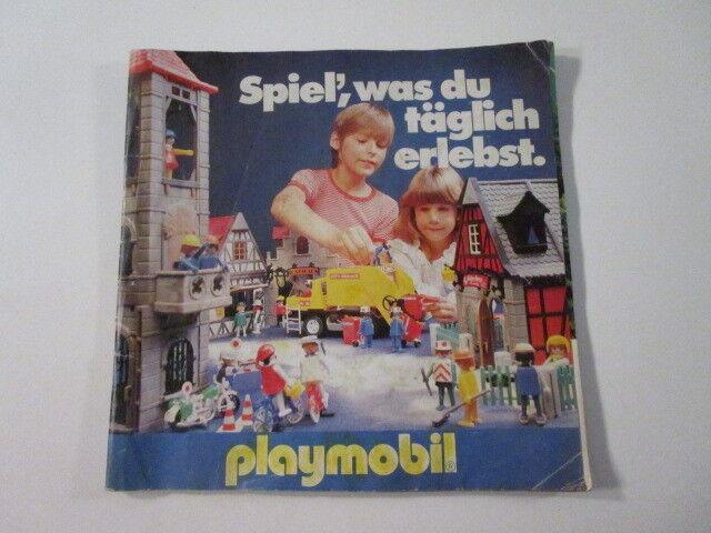 PLAYMOBIL-  DIFICILISIMO CATALOGO OFICIAL PLAYMOBIL 1979-1980, MARAVILL  - LUJO