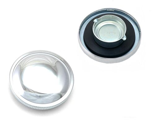 2FastMoto Non-Vented Left Side Gas Fuel Cap for Harley Fat Bob Tank 61103-73