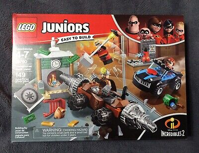 10760 LEGO Juniors Underminer Bank Heist 2018