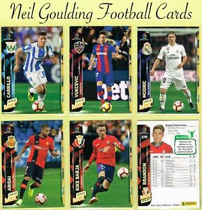 Details Zu Panini Megacracks Spain 2019 2020 Spanish Football Cards 181 To 270