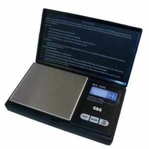 G-amp-G-300g-0-01g-MS-B-Feinwaage-Goldwaage-Digital-waage-Taschenwaage