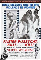 Russ Meyer Faster Pussycat Kill Kill Movie Poster Replica 13x19 Photo Print