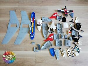 LEGO-850g-Airplane-plane-Part-pack-bulk-City