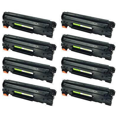8 PK CE285A Black Toner Cartridge Compatible for HP 85A LaserJet Pro M1102 M1130