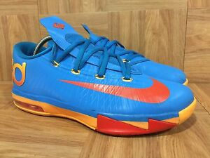 newest 172fc 22a32 Image is loading RARE-Nike-KD-VI-6-Kevin-Durant-OKC-