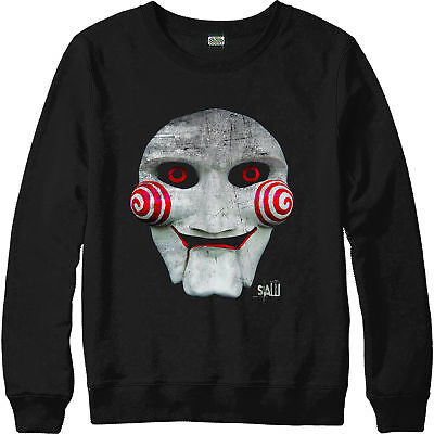 SAW Movie Jigsaw Inspired Design Top SAW Mask Jumper