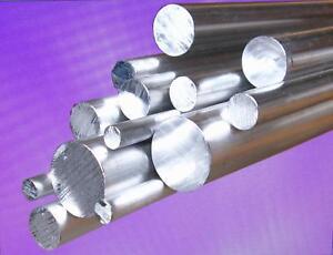 Aluminium Stange Ø 18-50mm 3.3206 Rundstab AlMgSi0.5 Stab Alu Rundmaterial /<2Met