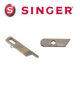 4Pcs Steel Overlocker BLADE Upper and Lower for SINGER 14U 544 554 654
