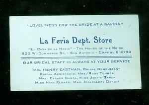 1950s laferia dept store san antonio tx bridal store business image is loading 1950 039 s laferia dept store san antonio reheart Gallery