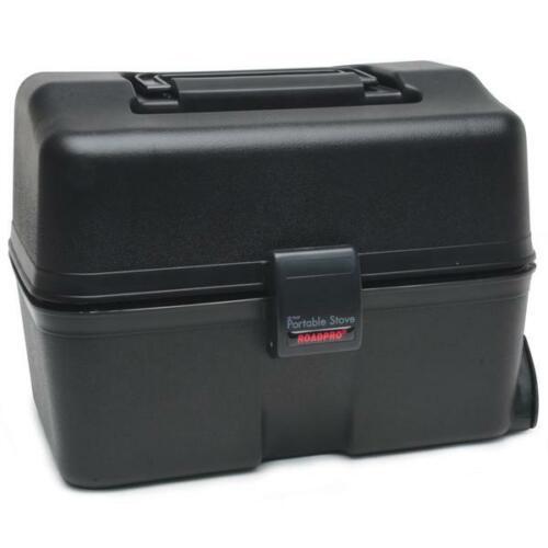 Black RPSC197 NEW RoadPro 12-Volt Portable Stove