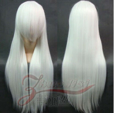 "80CM/32"" Long straight Cosplay Fashion Wig heat resistant 40colors"