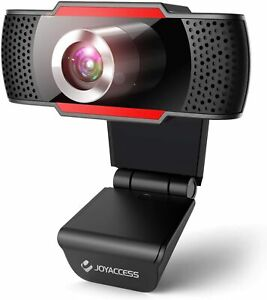 Webcam-1080P-Full-HD-PC-Web-Camera-w-Microphone-USB-2-0-Plug-amp-Play-Video-Calls