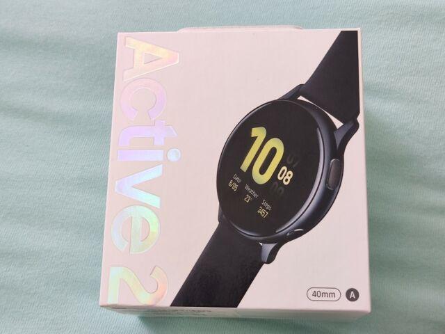 Samsung Galaxy Watch Active2 SM-R830 40mm Aqua Black - Schwarz NEU OVP