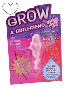 Grow Your Own Girlfriend Novelty Joke Stocking Filler Secret Santa Gift