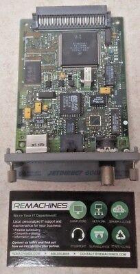 HP Laserjet 10//100 Ethernet Network Server Card Jetdirect 600N J3111A