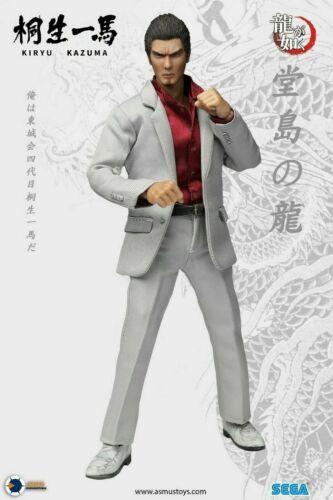 "8/"" YAKU01A Asmus Toys Ultimate KIRYU KAZUMA Male Action Figure Collectible Dolls"