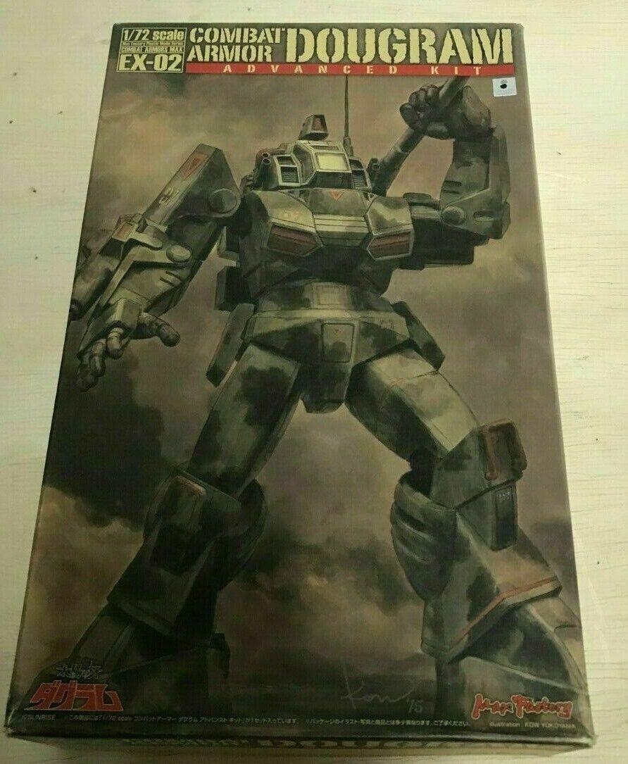 Max fábrica Fang of the Sun juego Dougram Max Ex-02 kit modelo de armadura (escala 1 72)