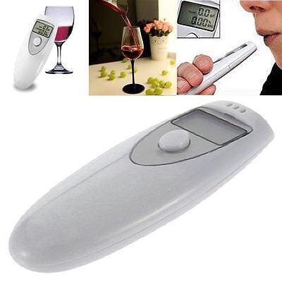 Tragbare Alkoholtester Promilletester Alkomat Promille Alkohol Tester LCD FS