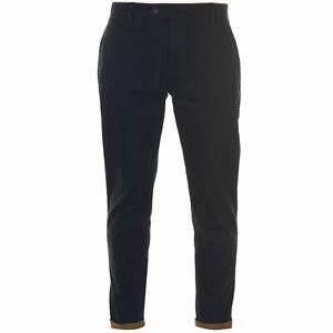 Kangol-Mens-Trim-Stretch-Chino-Chinos-Trousers-Pants-Lightweight-Zip-Block