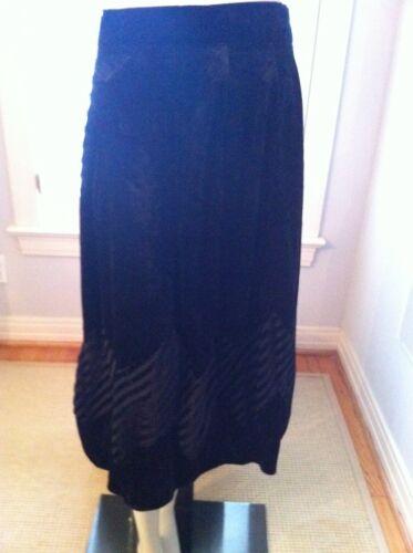 Vintage Matsuda black velvet skirt