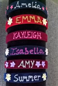 Christmas Headbands For Girls.Details About Personalised Velvet Hairbands Alice Bands Christmas Headbands For Girls