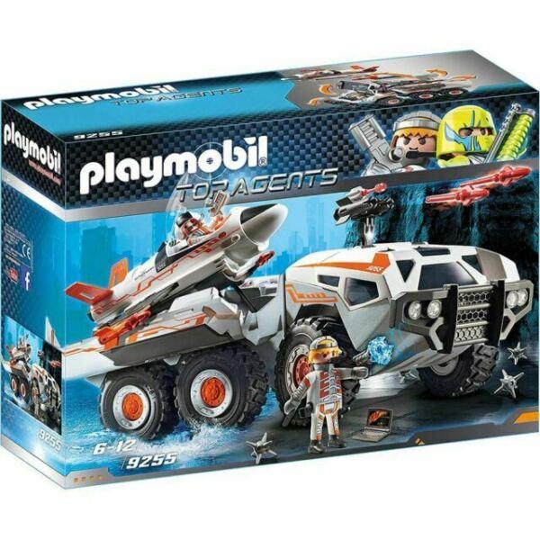 playmobil 9255 play set top agents spy team battle truck